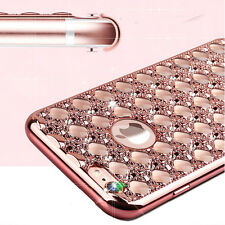 Bling Glitter Shockproof Rubber Diamond Soft TPU Case Cover for iPhone 6 6s Plus