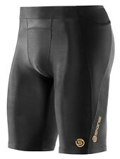 NEW Skins, Skins A400 Compression Men's Half Tights Black, in Black