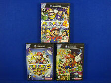 gamecube MARIO PARTY Games 4 + 5 + 6 PAL