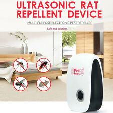 Electronic Ultrasonic Indoor Pest Bug Control Repeller Mouse Rat Mosquito Killer