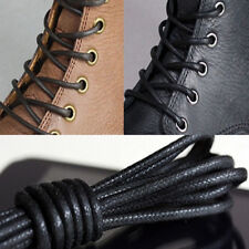Waxed Round Shoe Laces Shoelace Bootlaces Leather Brogues multi color 27.6'' ST