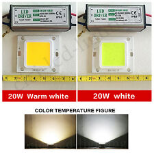 20W LED SMD Chip Bulbs + LED Driver Transformer Power Supply IP65 For Floodlight
