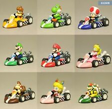 NEW Nintendo Super Mario Bros Mario Kart Pull Back Racer Yoshi Bowser Toy USA