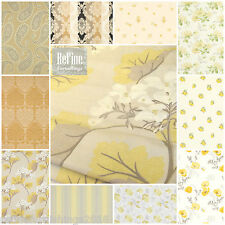 Laura Ashley Fabric Roman Blinds & Curtains Made to Measure~ Yellows and Golds