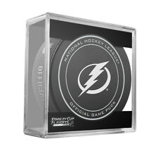 2016 NHL Tampa Bay Lightning Stanley Cup Playoffs Official On-Ice Hockey Puck