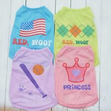 Cute Summer Pet Cat Puppy Small Dog Clothes Vest T Shirt Apparel  XS/S/M/L