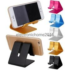 Desktop Aluminum Lazy Holder Stand Cradle Base For Smart Mobile Phone/ Tablet