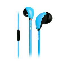 ifrogz Coda Ear Buds Black Hands Free Calls Play/Pause-Track FWD/Back PICK COLOR