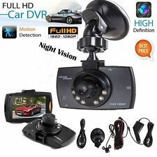 "New 1080P 2.7"" LCD Car DVR Dash Camera Cam G-sensor IR Night Vision Pro Hot LO"