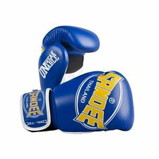 Sandee Cool-Tec Muay Thai Boxing Gloves - Blue