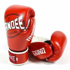 Sandee Cool-Tec Kids Muay Thai Boxing Gloves - Red