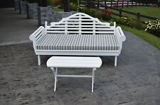 6 Foot Pine Indoor Outdoor Marlboro Daybed and Coffee Table Set -9 Paint Options