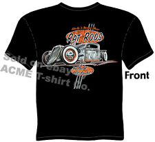 Hot Rod T Shirt Rat Rod Pickup 1935 1936 Ford Tee 35 36 Truck Sz M L XL 2XL 3XL