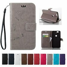 Flip Leather Wallet Cards Stand Case Cover For Huawei Nexus 6P Ascend P9/Lite