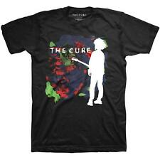 OFFICIAL LICENSED - THE CURE - BOYS DON'T CRY SILHOUETTE T SHIRT GOTH POP