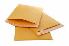 7.25X11GOLD KRAFT BUBBLE MAILER PADDED ENVELOPES BUBBLE MAILERS #1 FREE SHIPPING