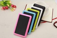 Genuine 10000mAh 3USB Solar Power Bank External LED Battery Charger For Phone