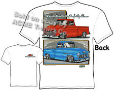 Chevy Shirt Chevrolet Clothing Pickup Truck Tee Shirts 1955 1956 1957 55 56 57
