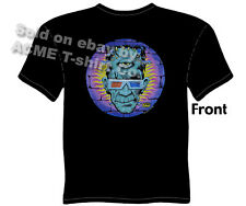 Frankenstein T Shirt Monster God Of 3D Tattoo Tee Shirt Kustom Kulture Shirt