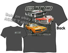 Pontiac Shirts GTO Shirts Muscle Cars T Shirts 1965 1967 1969 65 67 69 Clothing