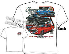 Camaro T Shirts Chevy Shirt Chevrolet Clothing Muscle Car Apparel 1967 1968 1969