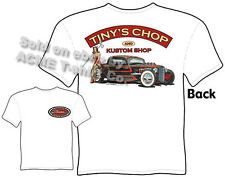 Hot Rod Clothes 33 34 Ford T Shirt 1933 1934 Vintage Pinup Tee Sz M L XL 2XL 3XL