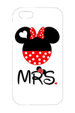 Cute Disney MR Mickey MRS Minnie Hard Case Cover For Apple iPhone 6s Plus 5s SE