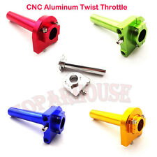 CNC Aluminum Twist Throttle Moped Scooter Motorcycle Pit Dirt Trail Monkey Bike