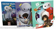 -CLEARANCE- Big Hero Six 6 ::Lockable Diary Box OR Notepad:: ASSORTED COLOURS