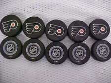 2016 NHL Philadelphia Flyers National Hockey League Mini Puck Charms Lot of (10)