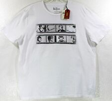 NWT Lucky Brand The Beatles Filmstrip White T-Shirt Choose Size