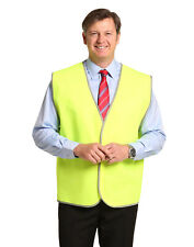 10 of AIW SW02A; High Visibility Safety Vest 100% Polyester