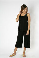 NEW Bamboo Body Relaxed Singlet - Black from Gogo Gear Travel Accesssories