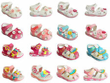 Toddler Baby Girls Shoes Kids Summer Sandals Flower Soft Sole Light Infant Size