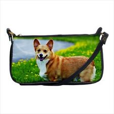Pembroke Welsh Corgi Shoulder Clutch Handbag & Mini Coin Purse - Dog