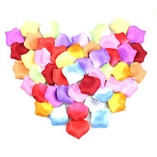 100pcs/lot &17Colors Polyester Rose Petals Patal Fashion Atificial Flowers Decor