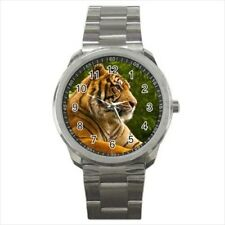 Bengal Tiger Stainless Steel Watches
