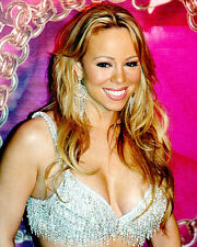 Mariah Carey Color Poster or Photo Big Smile