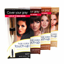 Cover Your Gray - Waterproof Brush-in, Hair Color Touch-Up