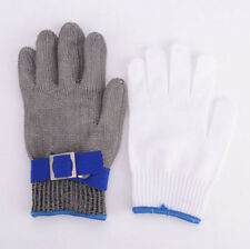 Protect Safety Cut Proof Stab Resistant Stainless Steel Metal Mesh Butcher Glove