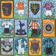 MERLIN 98 (1998) football kit / badge sticker in fridge magnet  - VARIOUS