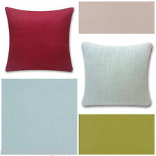 Laura Ashley Bacall Plain Fabric Cushion Covers~ Choose your Size and Colour