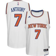 Carmelo Anthony New York Knicks BOYS Adidas Swingman White Basketball Jersey