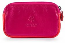 Visconti RB68 Ladies Genuine Leather Purse Wallet Zip Coin Purse in Multi-Color