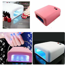 36W UV Nail Art Lamp Gel Curing Tube Light Dryer 220/110V EU/US Plug New SL