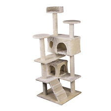 "51"" Cat Scratcher Tree Condo Furniture Kitten Tower Post Play Toy Pet House New"