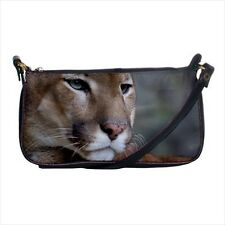 Wild Cougar Mini Coin Purse & Shoulder Clutch Handbag