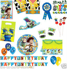 Disney TOY STORY Birthday Boys Party Supplies Decorations Tableware Balloons Kid