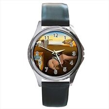 Persistence of Memory Salvador Dali Round & Square Leather Strap Watch