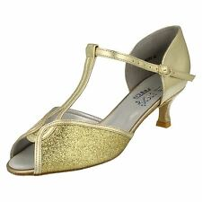 Ladies Freed of London Dance Steps Dance Shoes Citrine